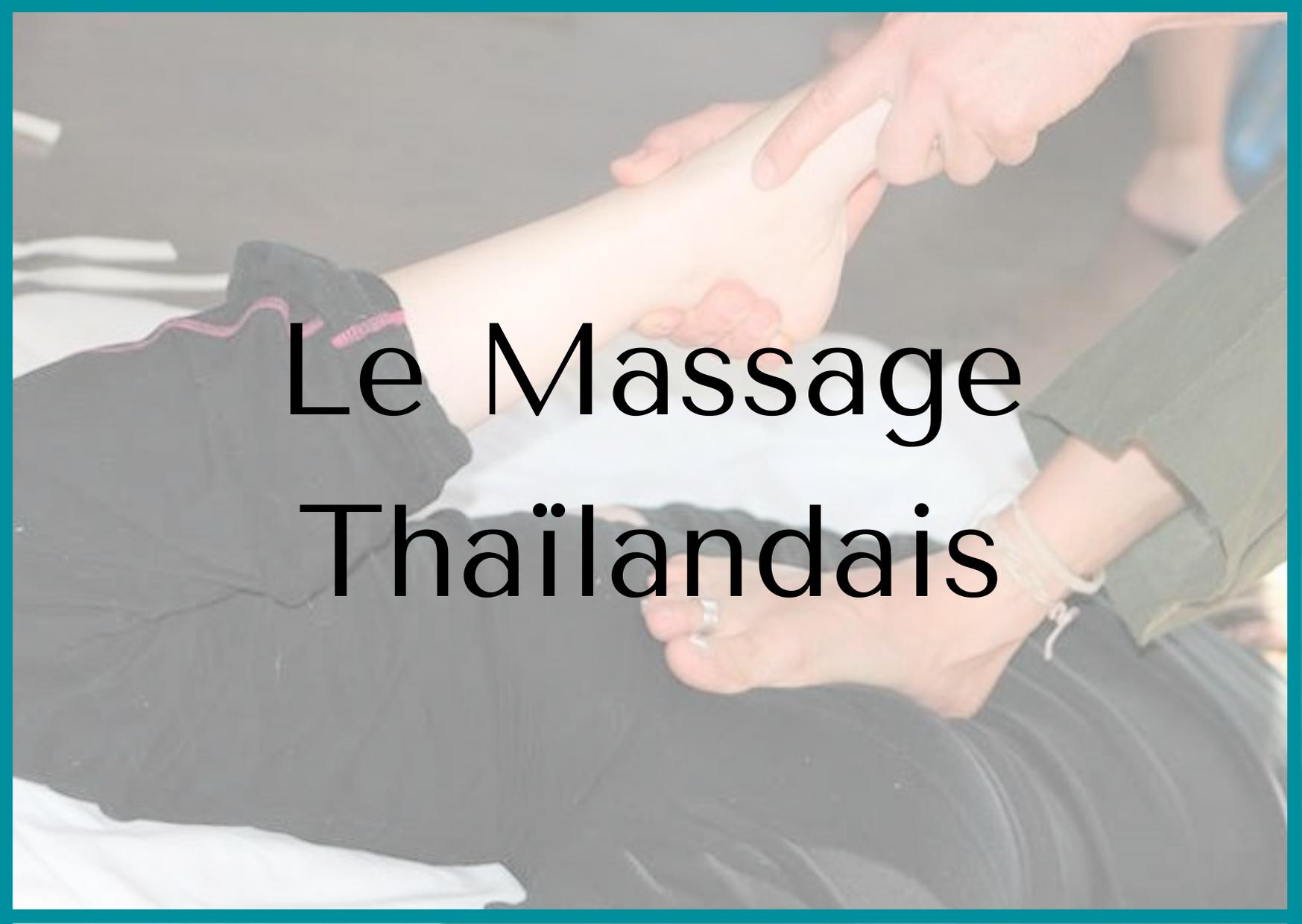 Quelle est la différence entre le massage suédois et le massage thaïlandais ?